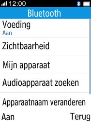 Alcatel 2045 (2045X) - Bluetooth - Aanzetten - Stap 4