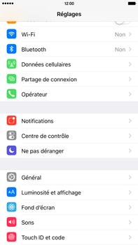 Apple iPhone 6s Plus - Internet et connexion - Partager votre connexion en Wi-Fi - Étape 3