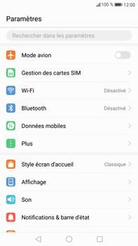 Huawei Mate 9 - WiFi et Bluetooth - Configuration manuelle - Étape 3