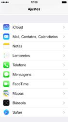 Apple iPhone iOS 7 - Chamadas - Como bloquear chamadas de um número específico - Etapa 4