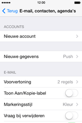 Apple iPhone 4 iOS 7 - E-mail - handmatig instellen (outlook) - Stap 4