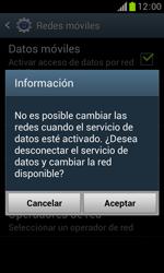 Samsung S7560 Galaxy Trend - Red - Seleccionar el tipo de red - Paso 8