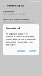 Samsung Galaxy S7 - Android Nougat - Red - Seleccionar una red - Paso 8