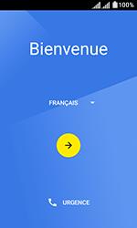 Alcatel U3 - Premiers pas - Configuration de l