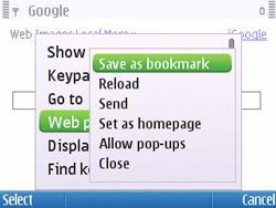 Nokia E5-00 - Internet - Internet browsing - Step 6