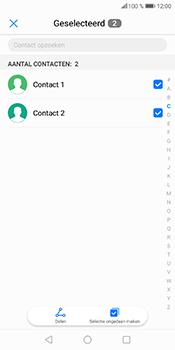 Huawei P Smart (Model FIG-LX1) - Contacten en data - Contacten overzetten via Bluetooth - Stap 7