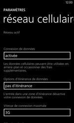 Nokia Lumia 520 - Réseau - Changer mode réseau - Étape 5
