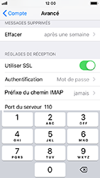 Apple iPhone 5s - iOS 12 - E-mail - Configuration manuelle - Étape 26