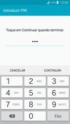 Samsung Galaxy S4 LTE - Segurança - Como ativar o código de bloqueio do ecrã -  9