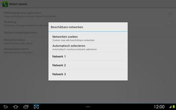 Samsung P5100 Galaxy Tab 2 10-1 - Netwerk - Handmatig netwerk selecteren - Stap 11