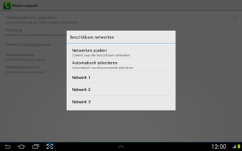 Samsung P5100 Galaxy Tab 2 10-1 - Buitenland - Bellen, sms en internet - Stap 9