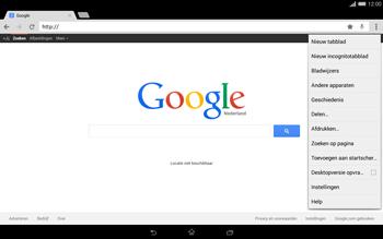 Sony Xperia Tablet Z2 (SGP521) - Internet - internetten - Stap 12