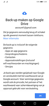 Huawei Mate 20 Pro - Data - maak een back-up met je account - Stap 11