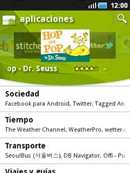 Samsung S5570 Galaxy Mini - Aplicaciones - Descargar aplicaciones - Paso 5