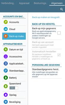 Samsung Galaxy Tab4 8.0 4G (SM-T335) - Instellingen aanpassen - Fabrieksinstellingen terugzetten - Stap 6