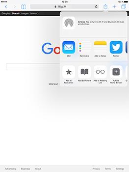 Apple iPad Pro 9.7 - iOS 10 - Internet - Internet browsing - Step 5