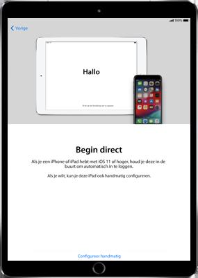 Apple iPad Air 2 - iOS 11 - Instellingen aanpassen - Hoe gebruik ik de Automatisch inloggen-optie - Stap 8