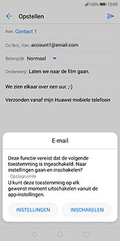 Huawei Mate 10 Pro - E-mail - hoe te versturen - Stap 11