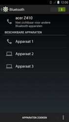 Acer Liquid Z410 - WiFi en Bluetooth - Bluetooth koppelen - Stap 6