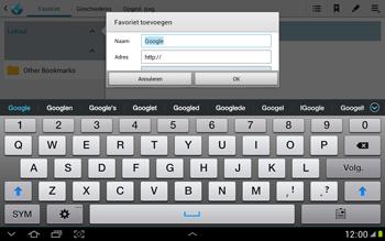 Samsung N8000 Galaxy Note 10-1 - Internet - Hoe te internetten - Stap 6