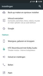 HTC 10 - Resetten - Fabrieksinstellingen terugzetten - Stap 4