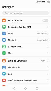 Huawei Mate 9 - Internet no telemóvel - Como ativar os dados móveis -  3