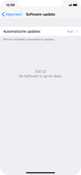 Apple iPhone XS - Toestel - Software update - Stap 7