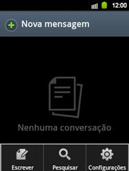 Samsung Galaxy Y - Mensagens - Como criar e enviar mensagens multimídia (MMS) - Etapa 4