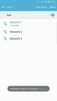 Samsung Samsung G928 Galaxy S6 Edge + (Android M) - Wi-Fi - Verbinding maken met Wi-Fi - Stap 8