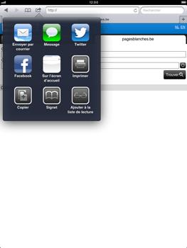 Apple iPad mini - Internet - Navigation sur Internet - Étape 10