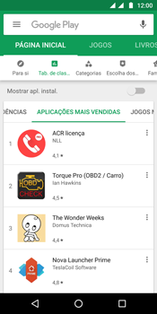 Motorola Moto G6 - Aplicações - Como pesquisar e instalar aplicações -  9