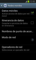 Samsung i8260 Galaxy Core - Internet - Activar o desactivar la conexión de datos - Paso 6