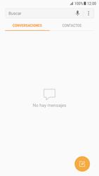 Samsung Galaxy S7 - Android Nougat - Mensajería - Escribir y enviar un mensaje multimedia - Paso 4