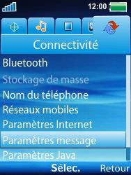 Sony Ericsson W100i Spiro - Mms - Configuration manuelle - Étape 4