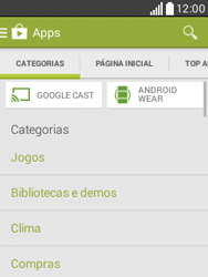 LG D100 L20 - Aplicativos - Como baixar aplicativos - Etapa 6