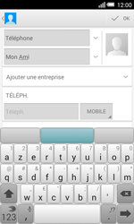 Alcatel OT-5050X Pop S3 - Contact, Appels, SMS/MMS - Ajouter un contact - Étape 8