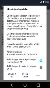 LG H815 G4 - Appareil - Mise à jour logicielle - Étape 9