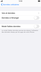 Apple iPhone 8 - iOS 13 - Internet - Utilisation à l