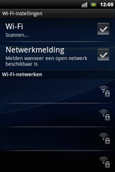Sony Ericsson Xperia Mini Pro - Wifi - handmatig instellen - Stap 6