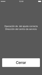 Apple iPhone SE iOS 10 - Mensajería - Configurar el equipo para mensajes de texto - Paso 6