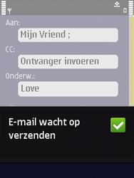 Nokia N86 - E-mail - E-mails verzenden - Stap 13