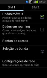 Samsung GT-I8552B Galaxy Win Duos - Rede móvel - Como ativar e desativar uma rede de dados - Etapa 6