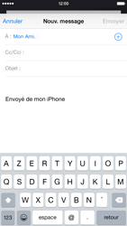 Apple iPhone 6 iOS 8 - E-mail - envoyer un e-mail - Étape 5