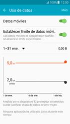 Samsung Galaxy J5 - Internet - Ver uso de datos - Paso 10