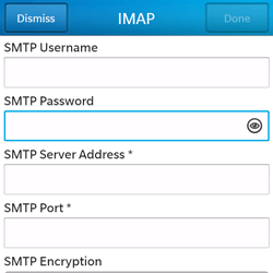 BlackBerry Q5 - Email - Manual configuration - Step 13