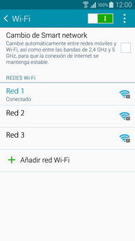 Samsung N910F Galaxy Note 4 - WiFi - Conectarse a una red WiFi - Paso 8