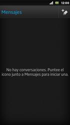 Sony Xperia U - Mensajería - Escribir y enviar un mensaje multimedia - Paso 4