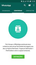 Samsung Galaxy J5 (2016) DualSim (J510) - Aplicações - Como configurar o WhatsApp -  12