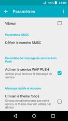 Acer Liquid Z320 - SMS - configuration manuelle - Étape 6