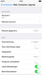 Apple iPhone 6 iOS 8 - E-mail - Account instellen (POP3 met SMTP-verificatie) - Stap 16